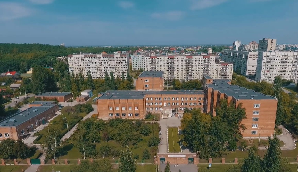 "Фасад ГБУ СО ""Тольяттинский пансионат"""